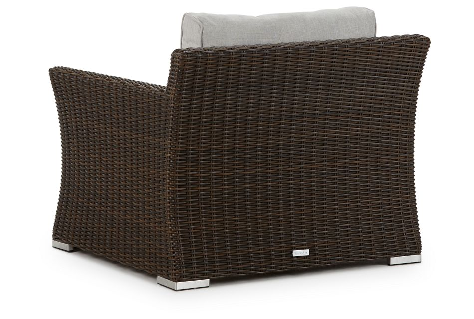 Southport Gray Woven Chair