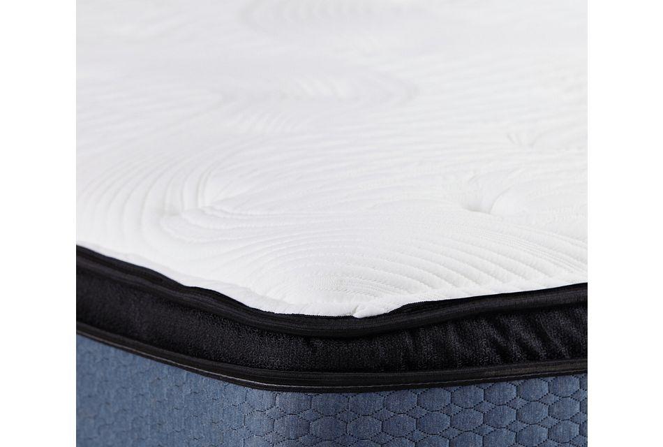 "Kevin Charles Daytona Plush 11.5"" Euro Top Mattress"