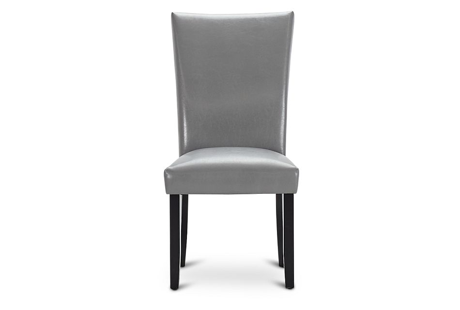 Auburn Gray Upholstered Side Chair, %%bed_Size%% (2)