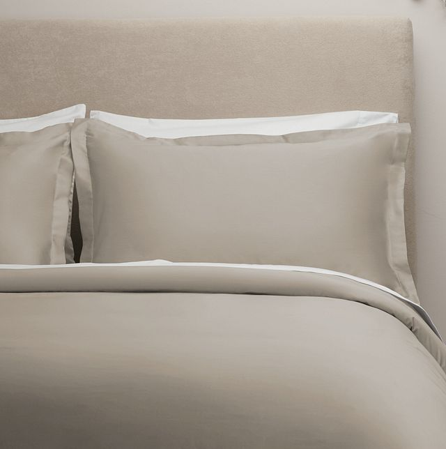 Egyptian Cotton Beige 400 Thread Duvet Set (0)