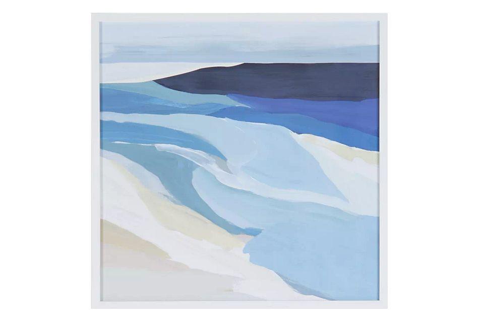 Peyto Blue Framed Wall Art