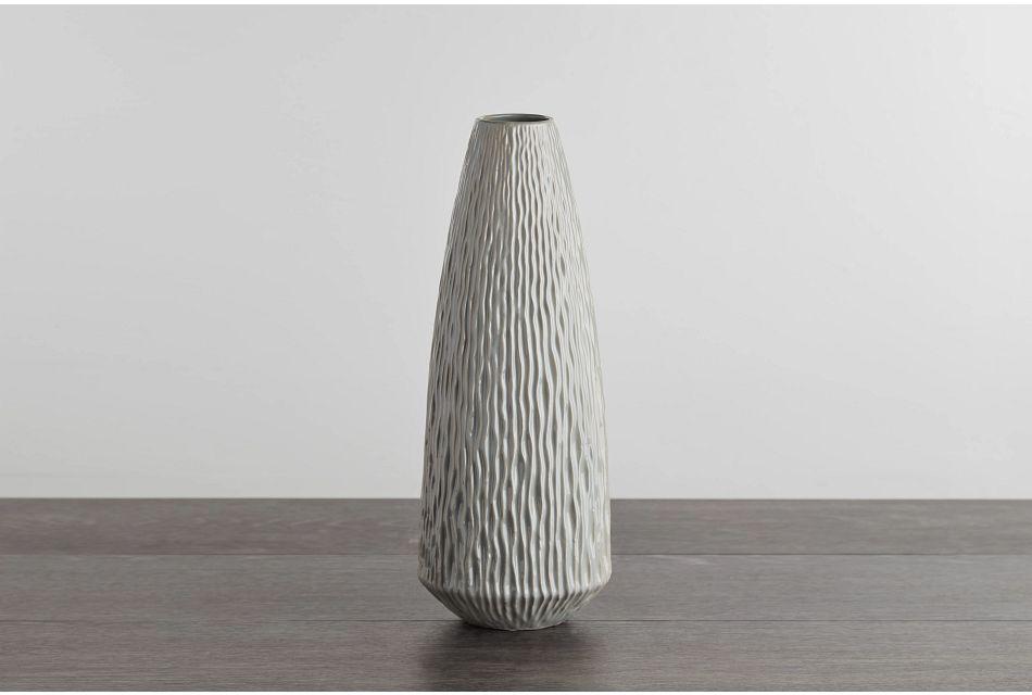 Lyra Medium Gray Vase