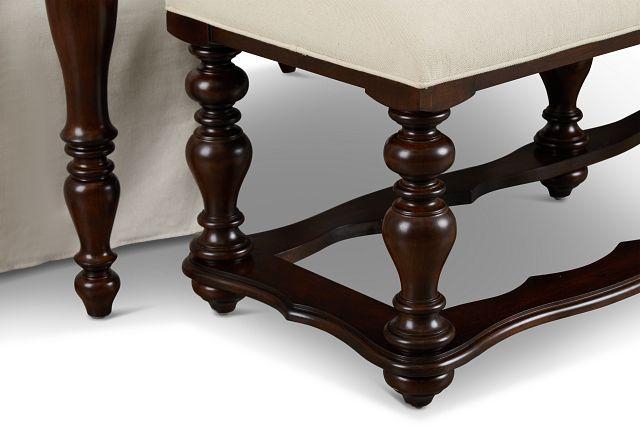 Savannah Dark Tone Rectangular Table And Mixed Chairs