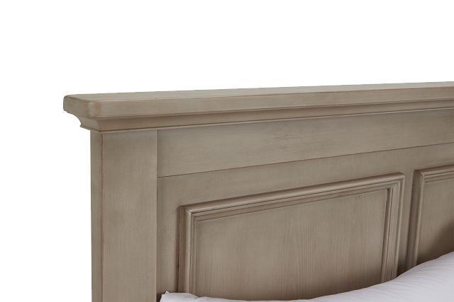 Kenilworth Light Tone Panel Bed