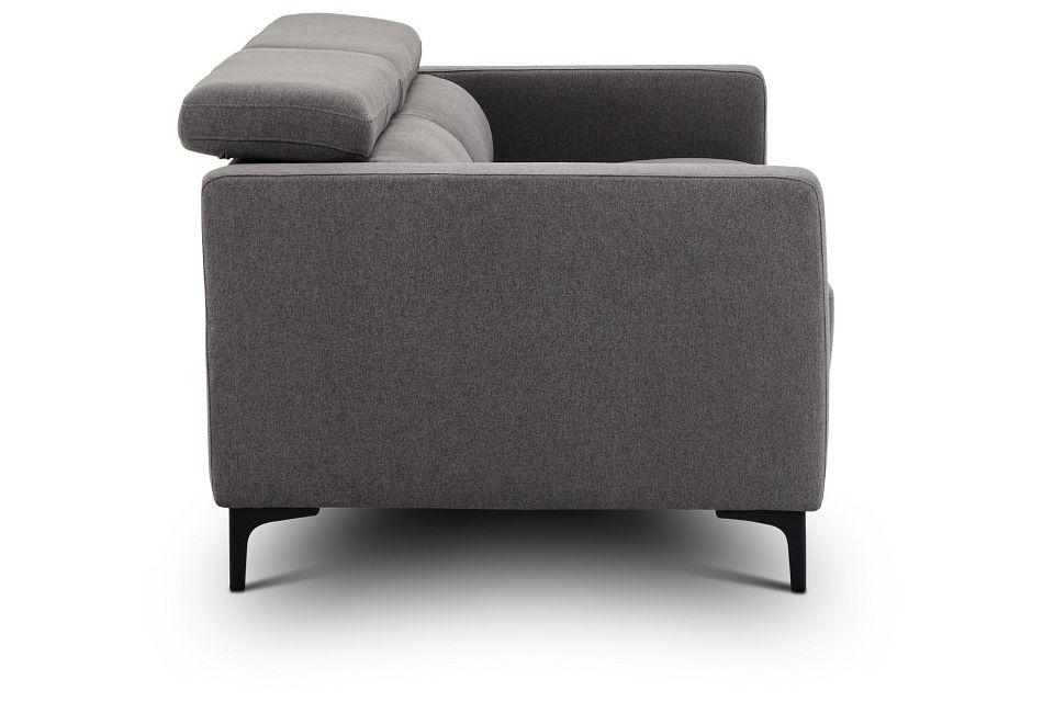 Trenton Dark Gray Fabric Sofa,  (3)