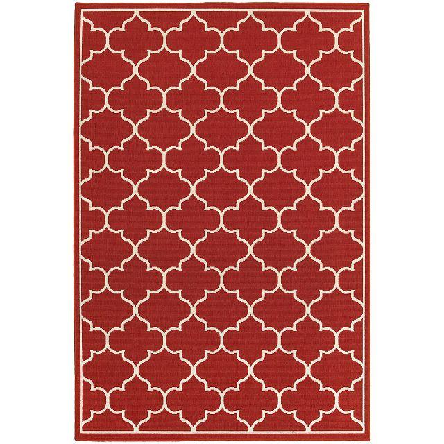 Melody Red Indoor/outdoor 5x8 Area Rug (0)