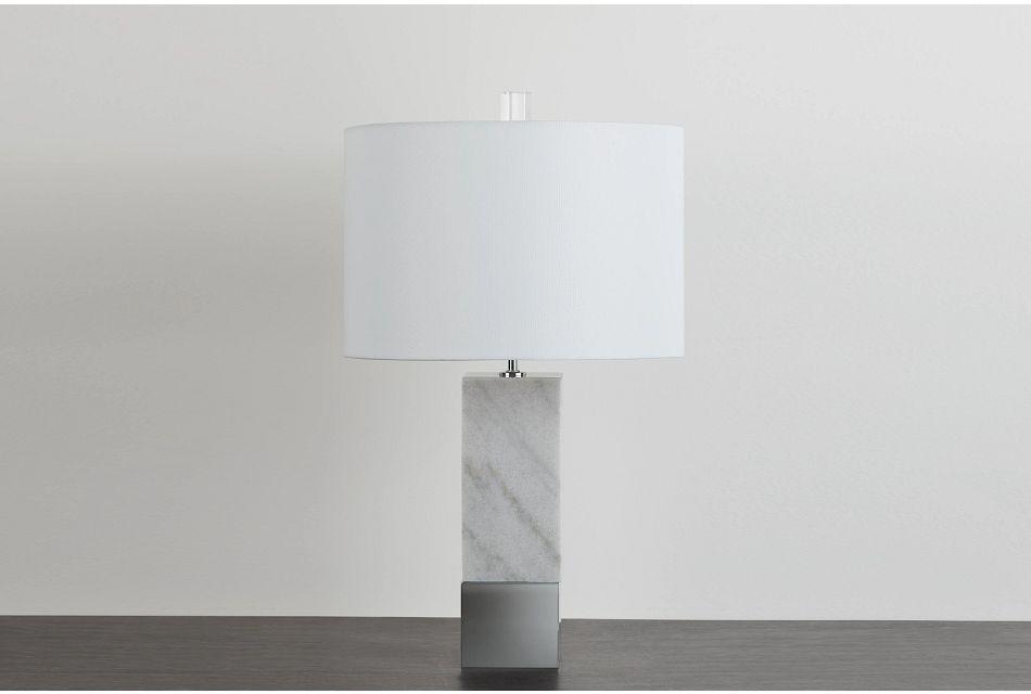 Enzio Marble Table Lamp