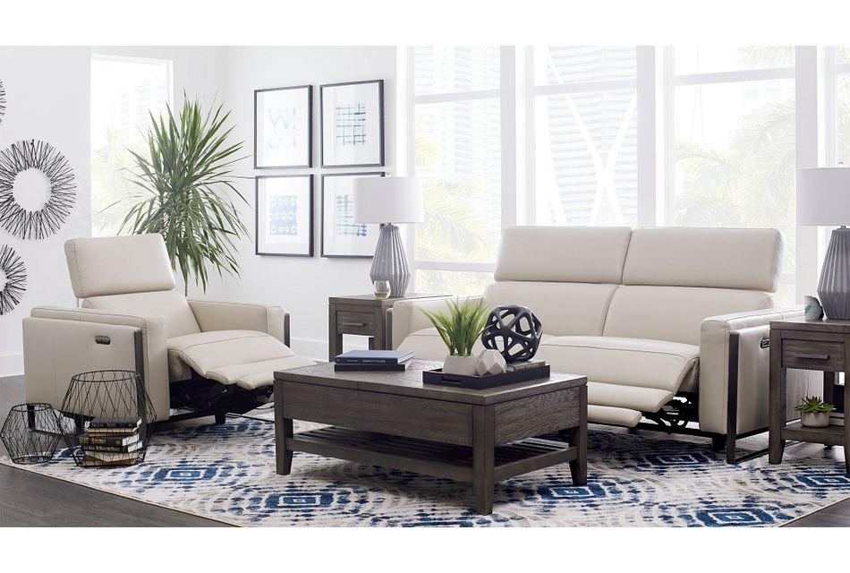 Atlas Taupe Lthr/vinyl Power Reclining Living Room