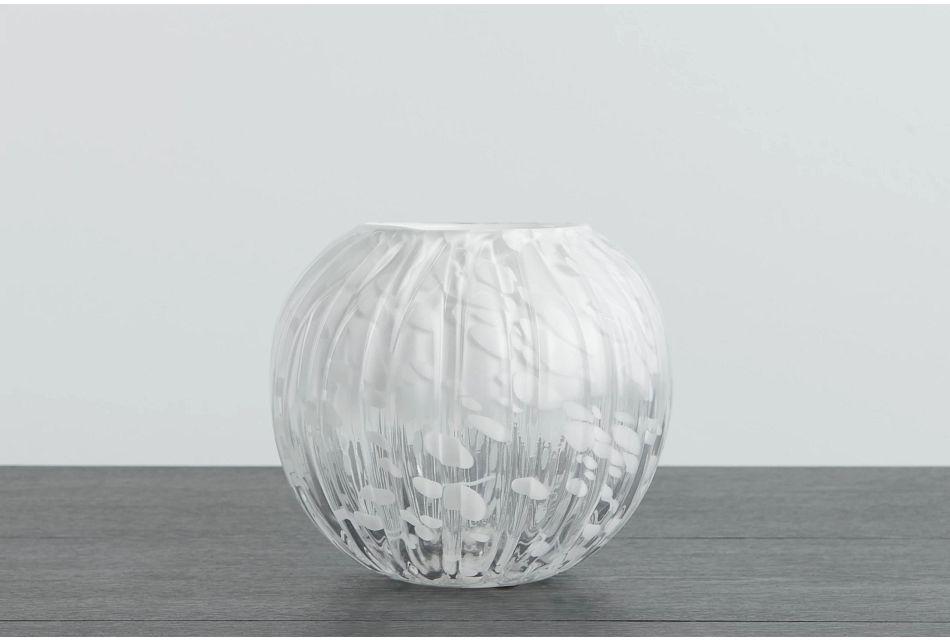 Mac White Vase
