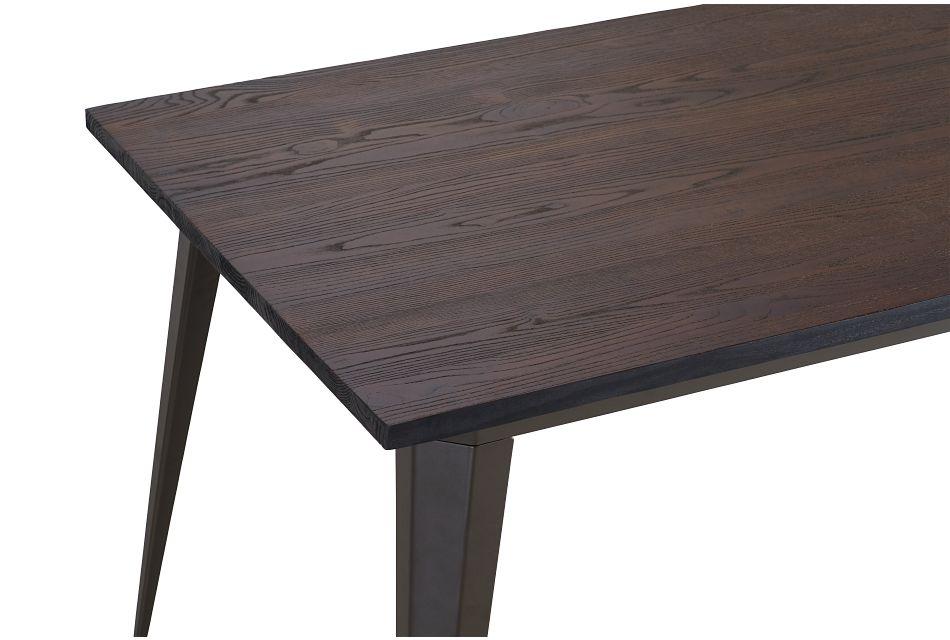 Harlow Dark Tone Rectangular Table