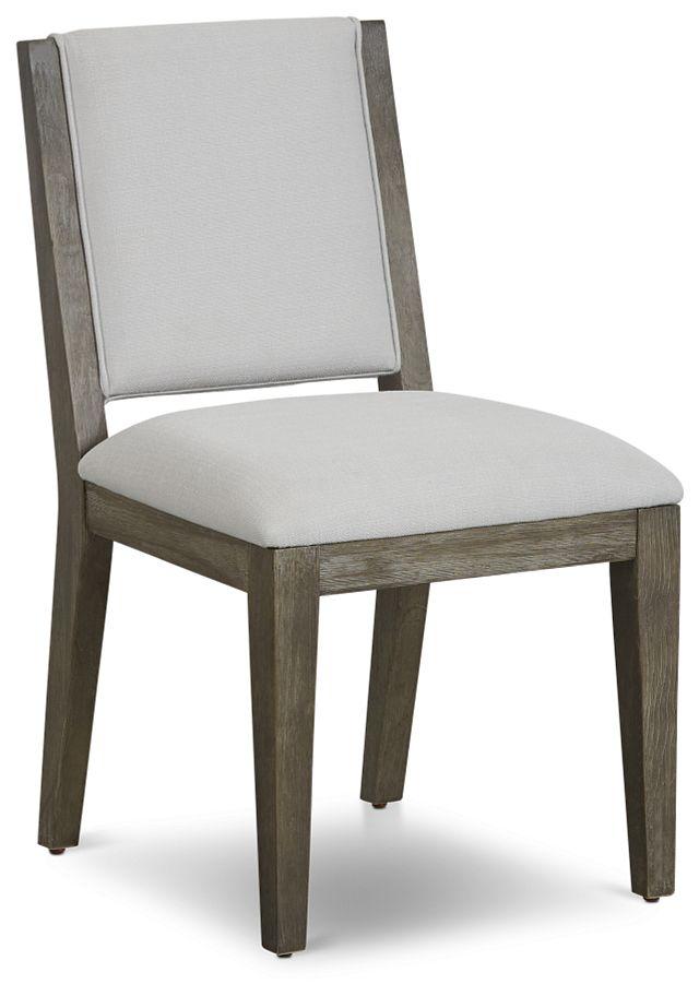 Bravo Dark Tone Upholstered Side Chair (1)
