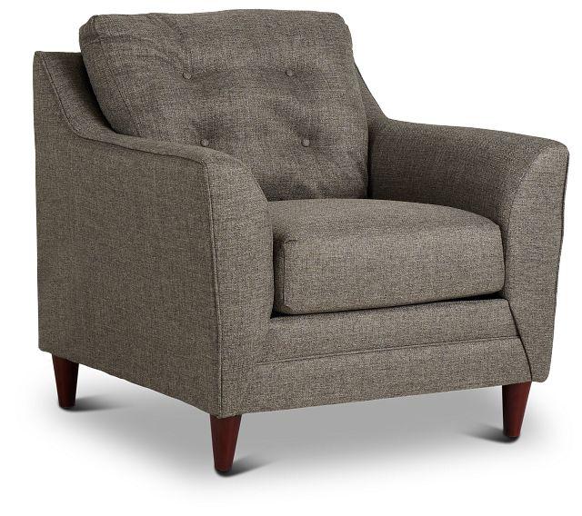 Jensen Dark Gray Fabric Chair (1)