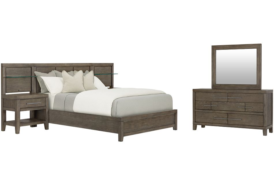 Bravo Dark Tone Wood Spread Bedroom