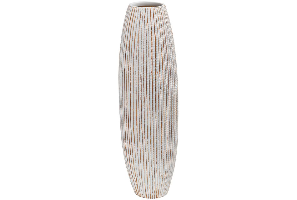 Harper Beige Vase