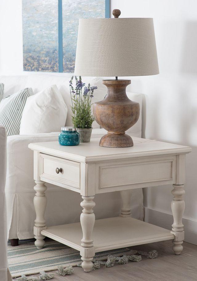 Savannah Ivory End Table (2)