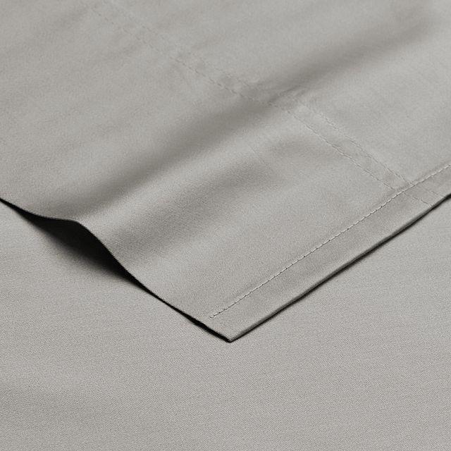 Egyptian Cotton Gray 400 Thread Sheet Set (2)