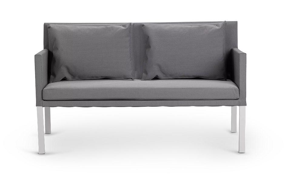 Lisbon Gray Sofa