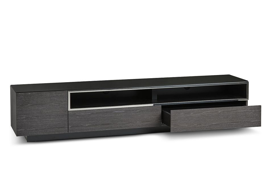 "Vancouver Dark Gray 86"" Tv Stand"