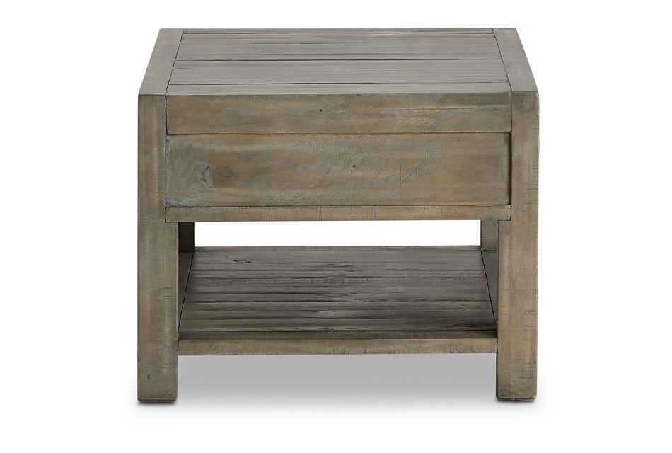Seattle Gray Rectangular Coffee Table