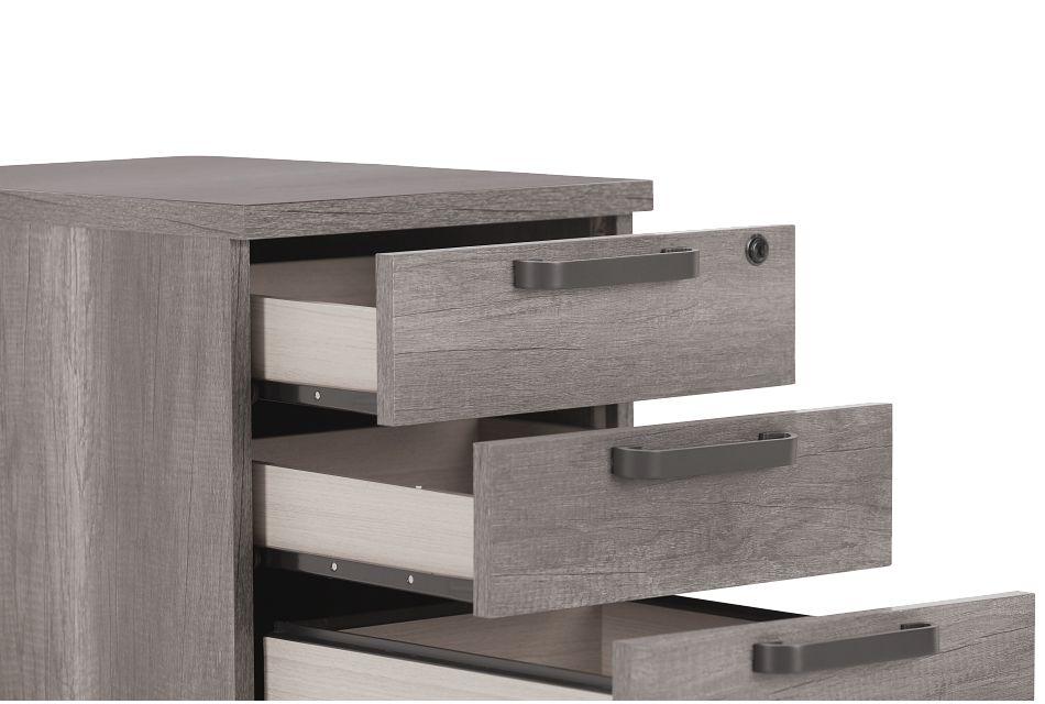 Milton Gray File Cabinet