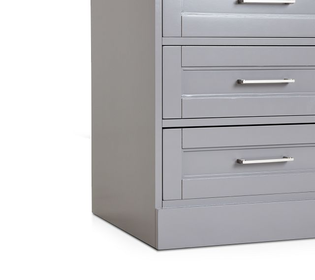 Newport Gray Drawer Cabinet