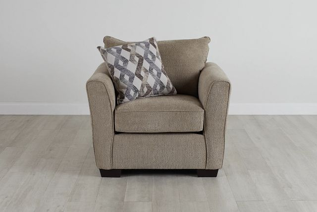Myra Beige Fabric Chair (0)