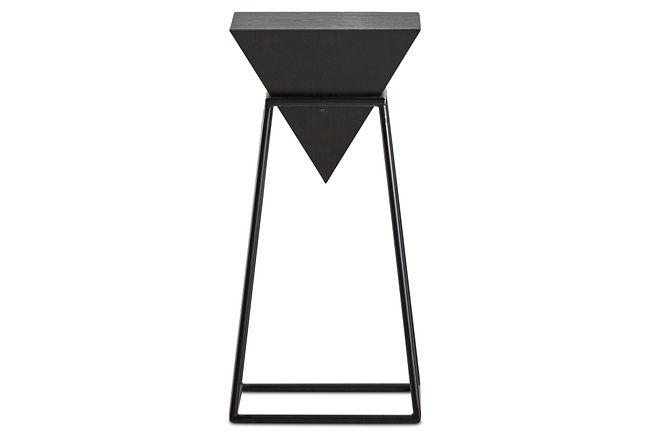 Roxy Black Accent Table
