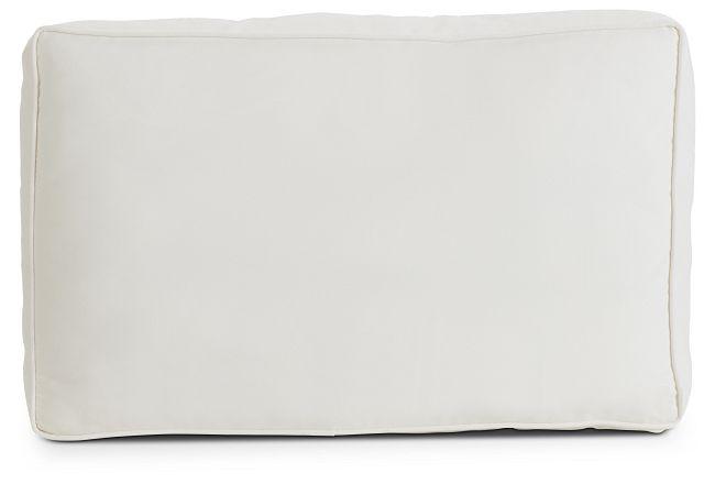 Raleigh White Back Cushion