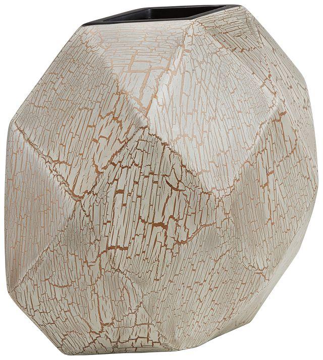 Bella White Round Vase (2)