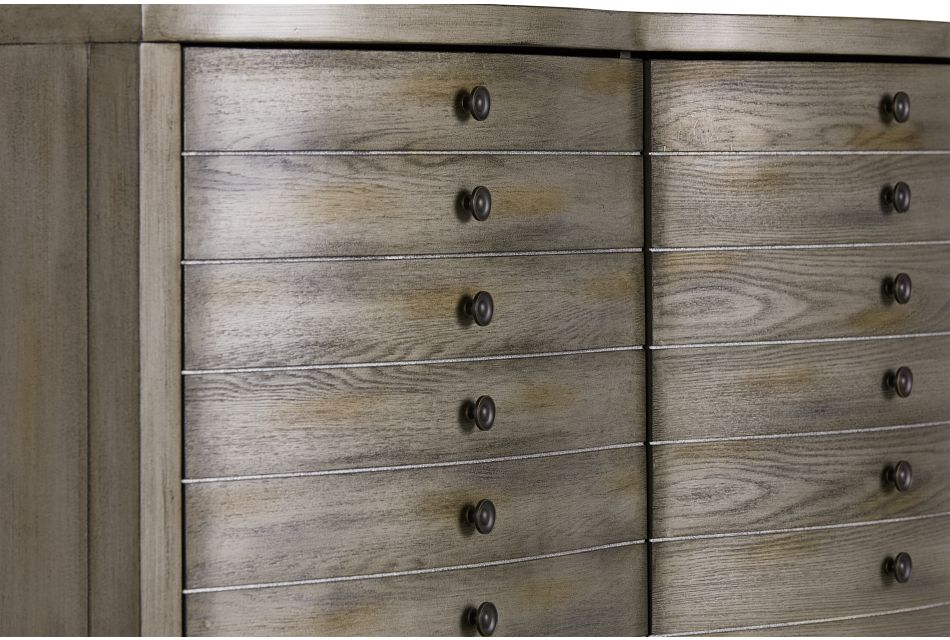 Maylin Gray Two-door Cabinet