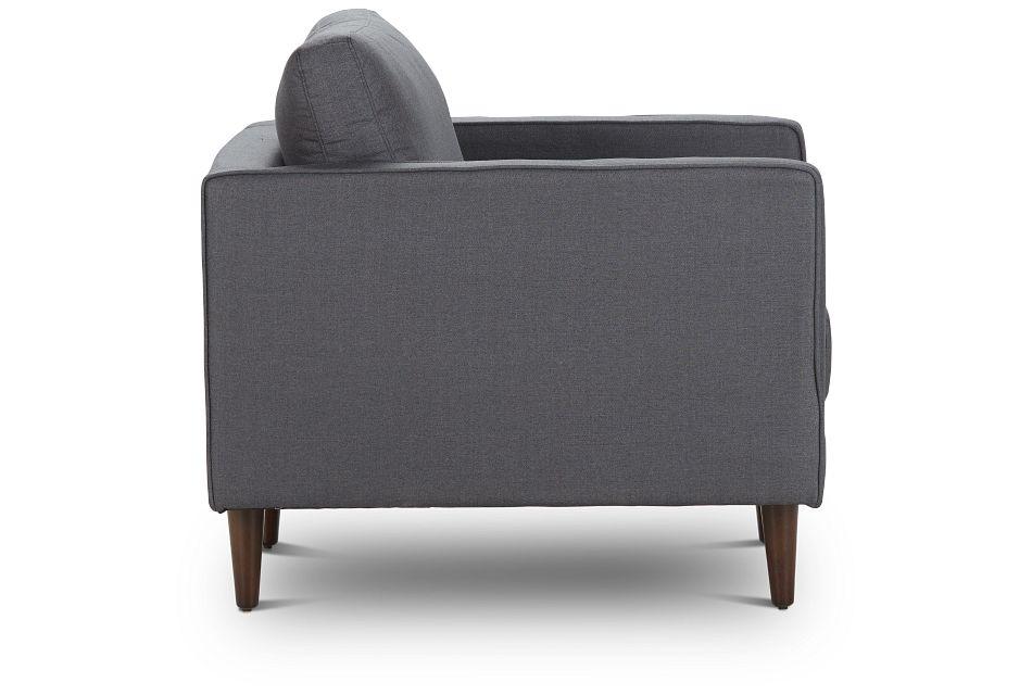 Rue Gray Fabric Chair,  (2)