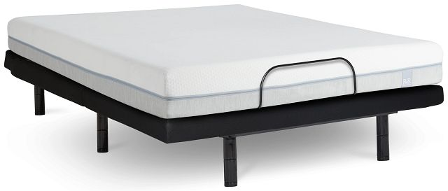 "Rest & Renew Memory Foam 8"" Bronze Adjustable Mattress Set (0)"