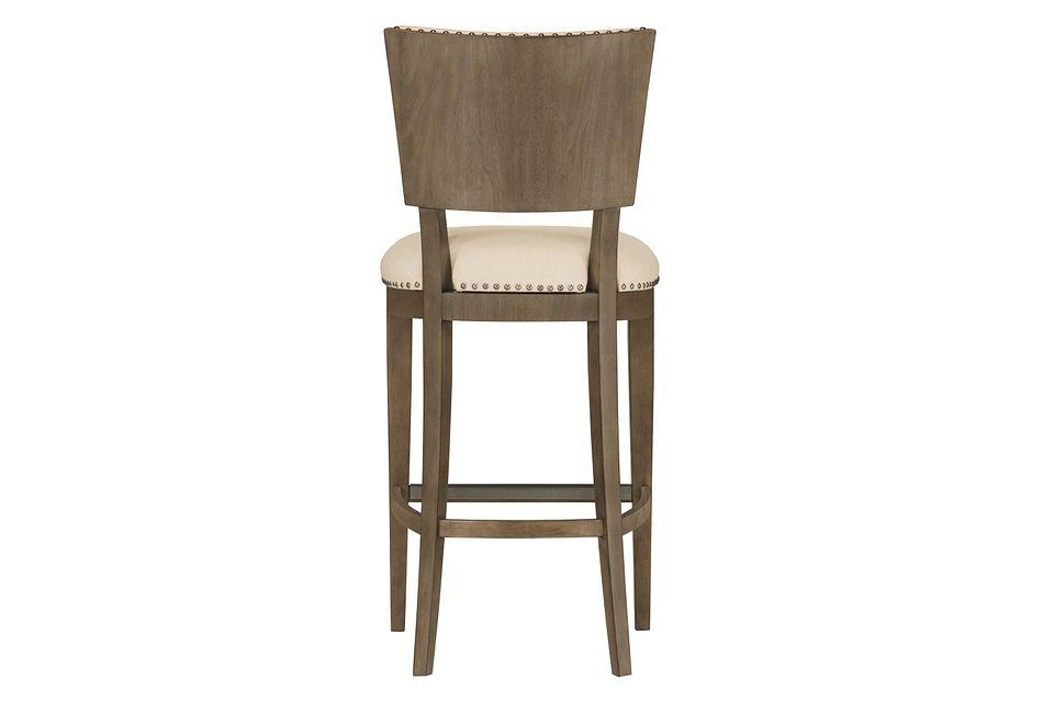 """Preston Gray 30"""" Upholstered Barstool"""
