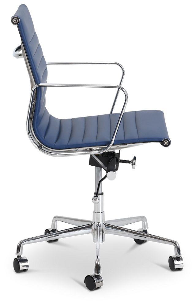 Mateo Dark Blue Desk Chair (2)