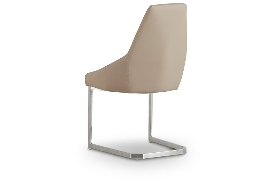 Monaco Taupe Upholstered Side Chair