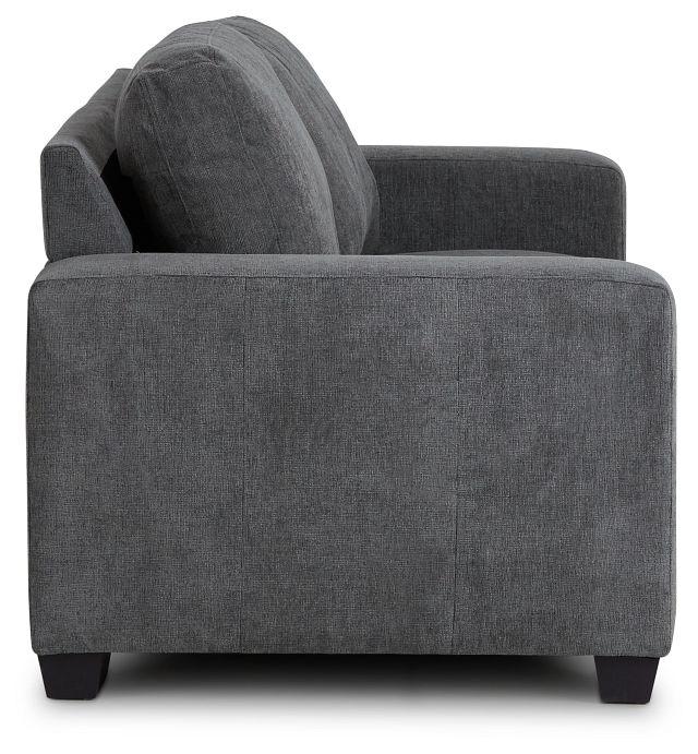 Estelle Dark Gray Fabric Sofa (3)