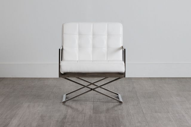 Stark White Uph Accent Chair (0)