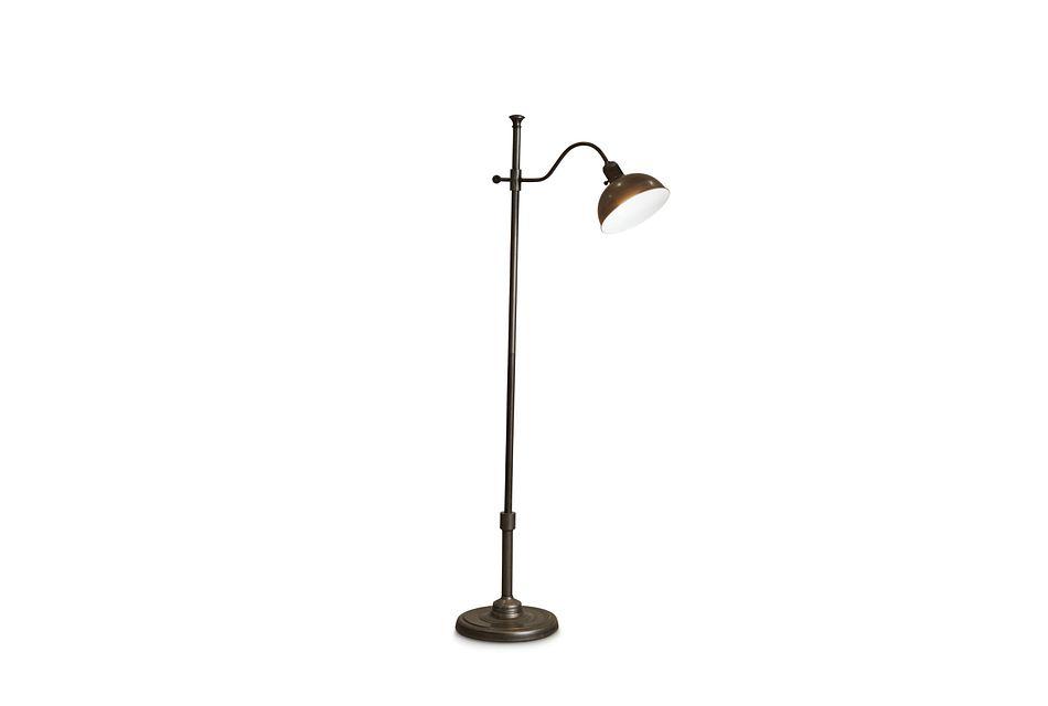 Castor Metal Floor Lamp