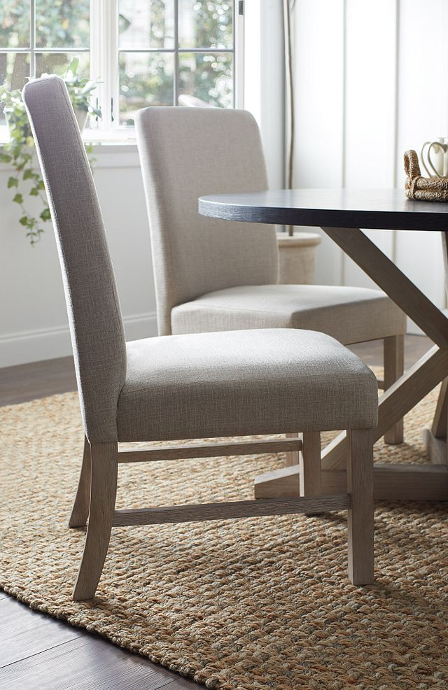 Jefferson Gray Upholstered Side Chair