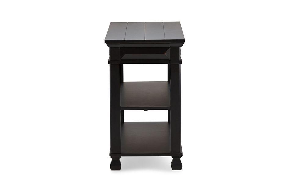 Passages Black  Console Table