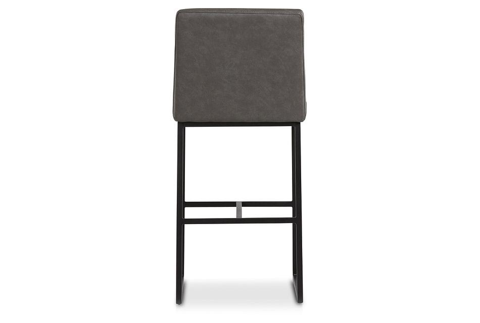 """Miller Dark Gray 30"""" Upholstered Barstool"""