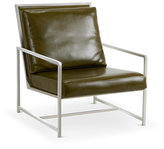 Harvey Green Uph Accent Chair (1)