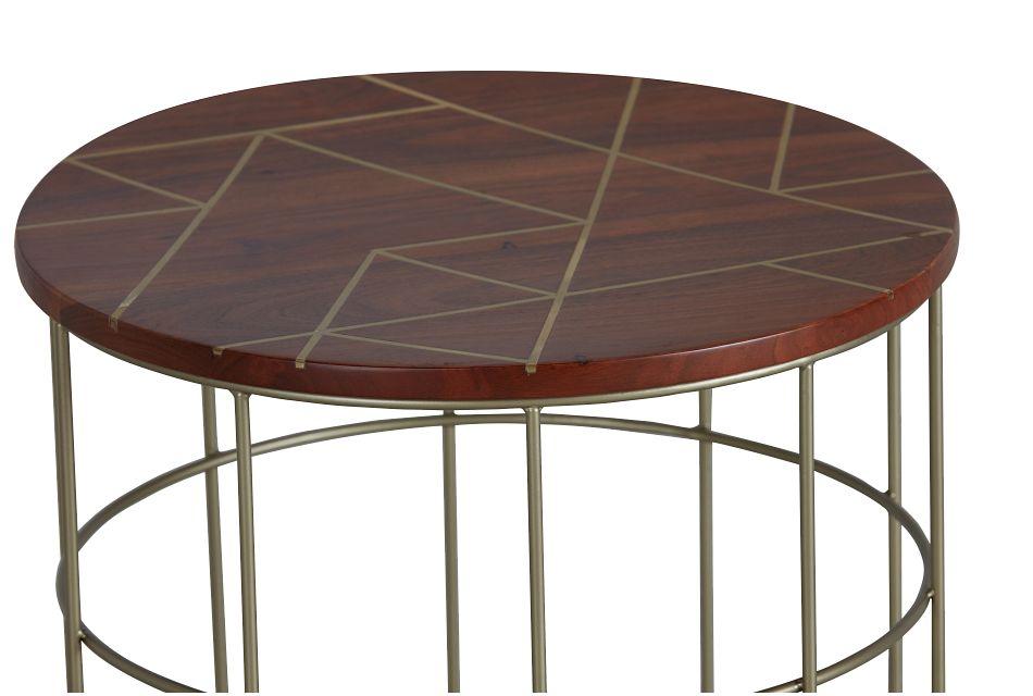 Briella Dark Tone Accent Table