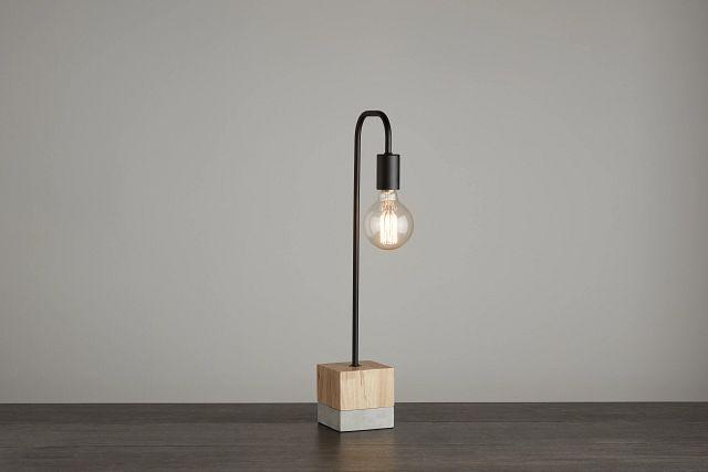 Leo Wood Table Lamp (0)