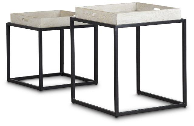 Bodi Light Tone Set Of 2 Nesting Tables (3)