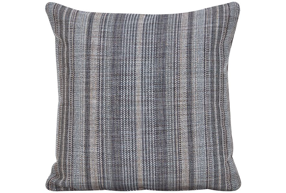 Nominate Gray Fabric Square Accent Pillow,  (0)
