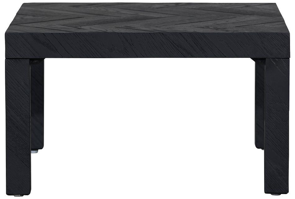 Sadya Black End Table