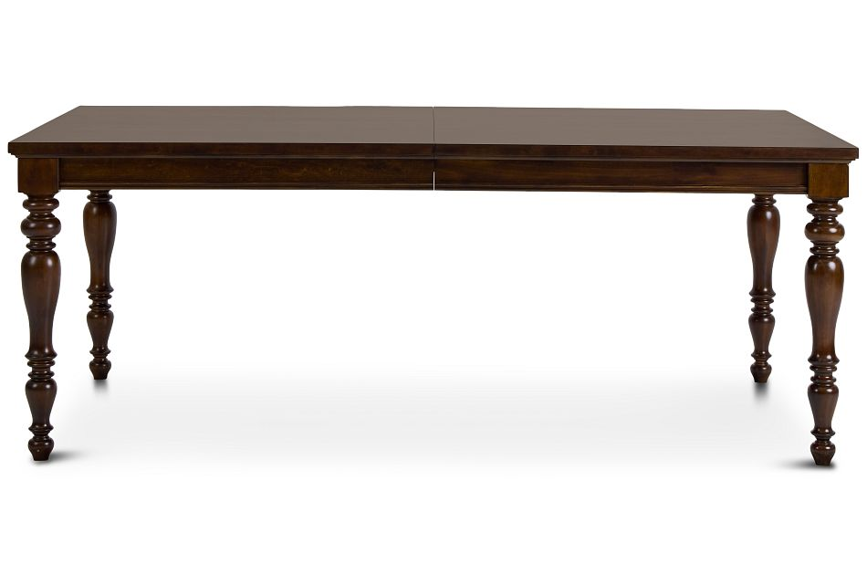 Savannah Dark Tone Rectangular Table,  (1)