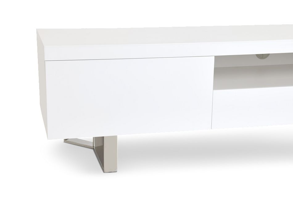 """Axel White 78"""" Tv Stand"""