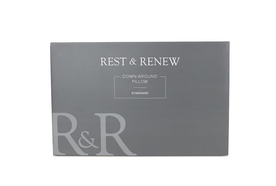 Rest & Renew Down Around Side Sleeper Pillow